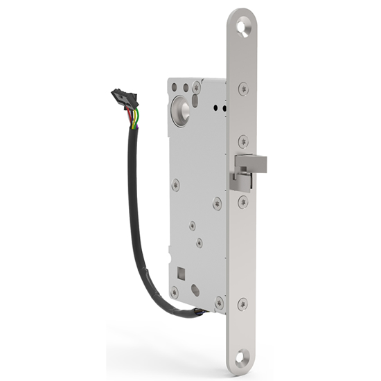 Eltryckeslås SL531 Omvänd funktion 12-24 V AC/DC, Dorndjup 50 mm Safetron