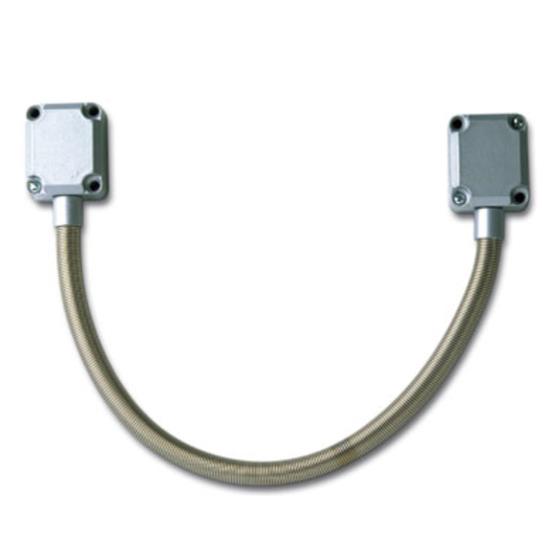 Kabelöverföring FM Extra kraftiga metall ändstycken 450MM Ø9MM