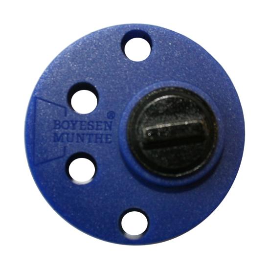 Cylinderförlängare 2294 10MM komposit rund blå